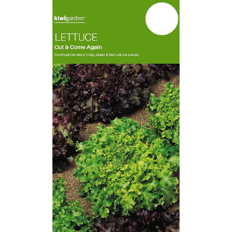 Kiwi Garden Lettuce Cut & Come Again, , hi-res