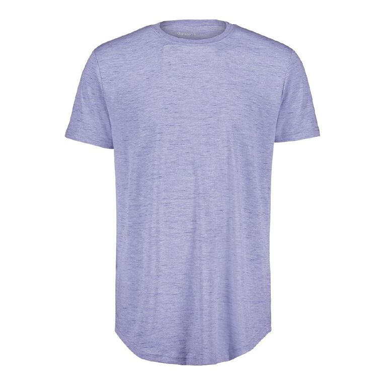 Garage Men's Crew Neck Short Sleeve Space Dye Tee, Blue Light, hi-res
