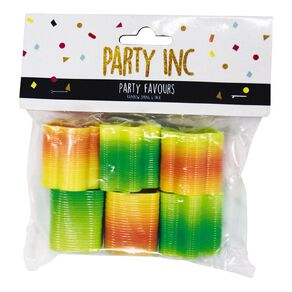 Party Inc Party Favours Rainbow Spring 6 Pack
