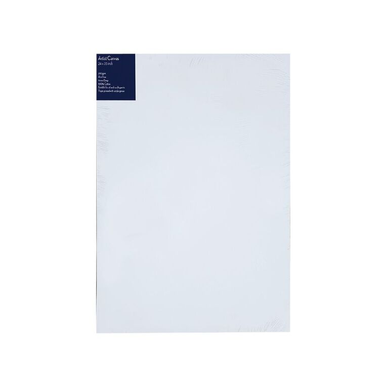 Uniti Blank Canvas 280gsm (24in x 36in) 60cm x 90cm, , hi-res