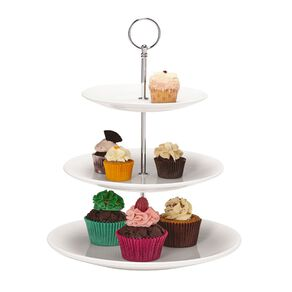Living & Co Cupcake Stand White 3 Tier