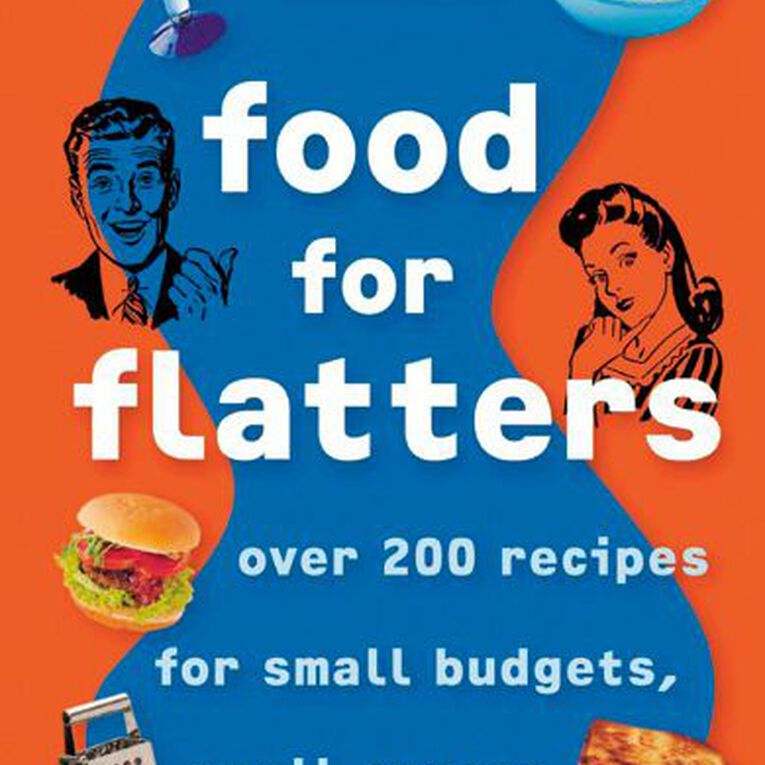 Edmonds Food for Flatters by Sally Cameron, , hi-res