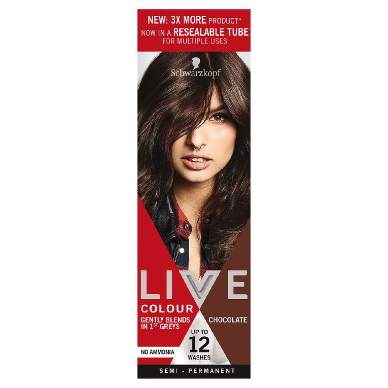 Schwarzkopf Live Colour Chocolate XL, , hi-res