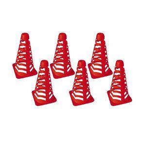 Active Intent Sports Sport Cones 6 Pack 22cm