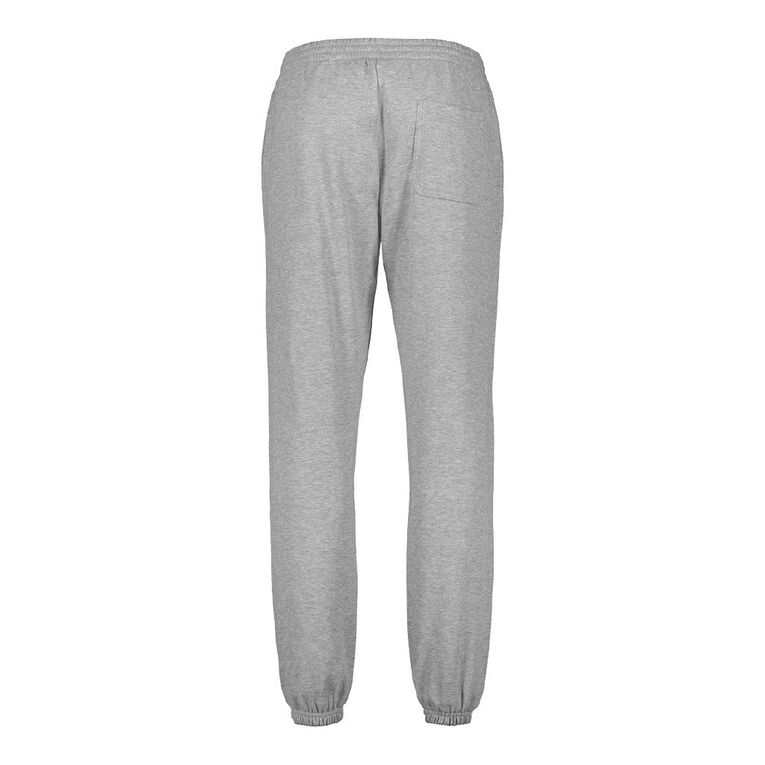 H&H Men's Plain Trackpants, Grey Mid, hi-res