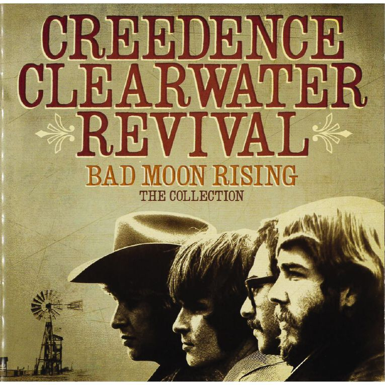 Bad Moon Rising The Collection CD by Creedence Clearwater Revival 1Disc, , hi-res