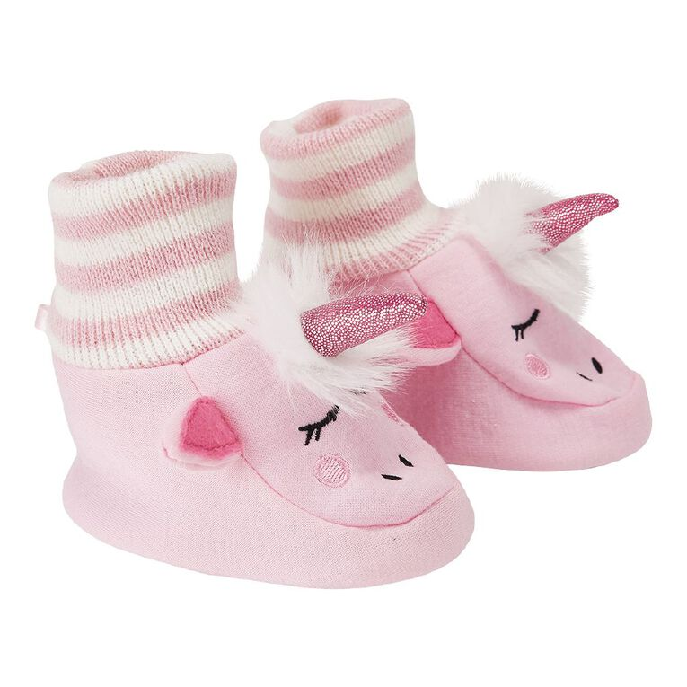 Young Original Infants' Snuggle Shoes, Pink Light, hi-res