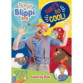 Blippi: Colouring Book