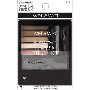 Wet n Wild Ultimate Brow Universal Stencil Kit Universal Appeal