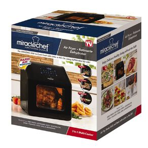 As Seen On TV Miracle Chef Air Fryer Deluxe 7 in 1