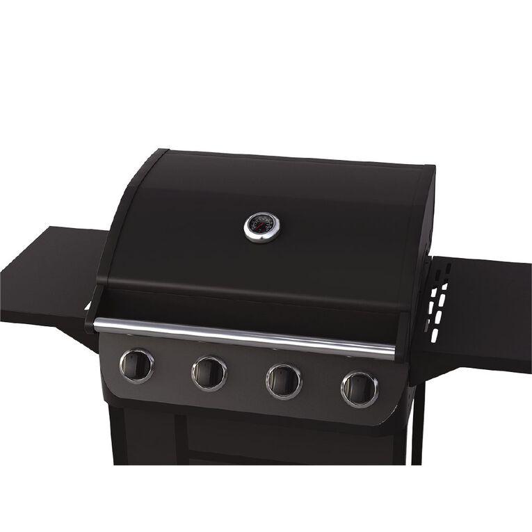 Living & Co Monza 4 Burner BBQ, , hi-res