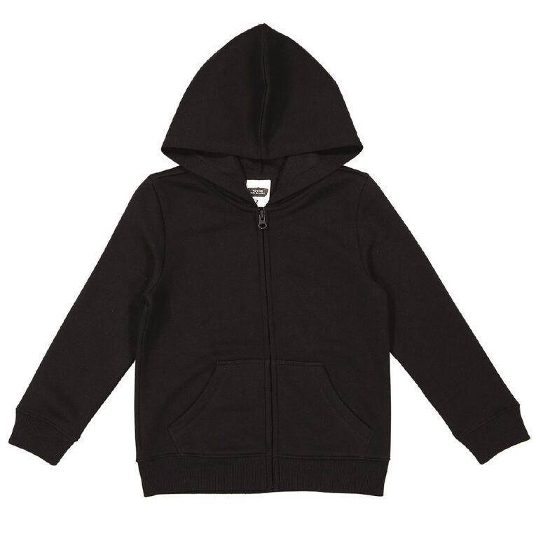 Young Original Zip-Thru Sweatshirt, Black, hi-res