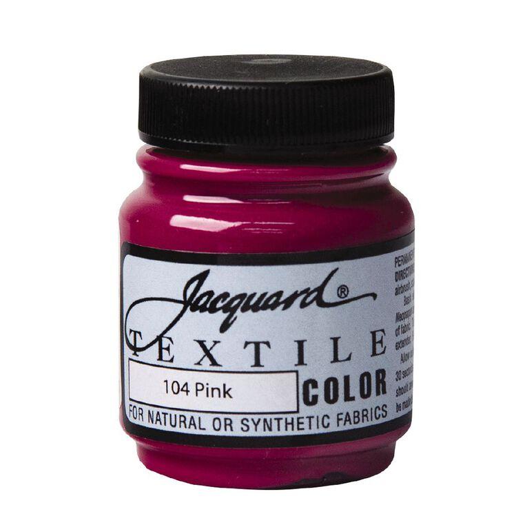 Jacquard Textile Colours 66.54ml Pink, , hi-res
