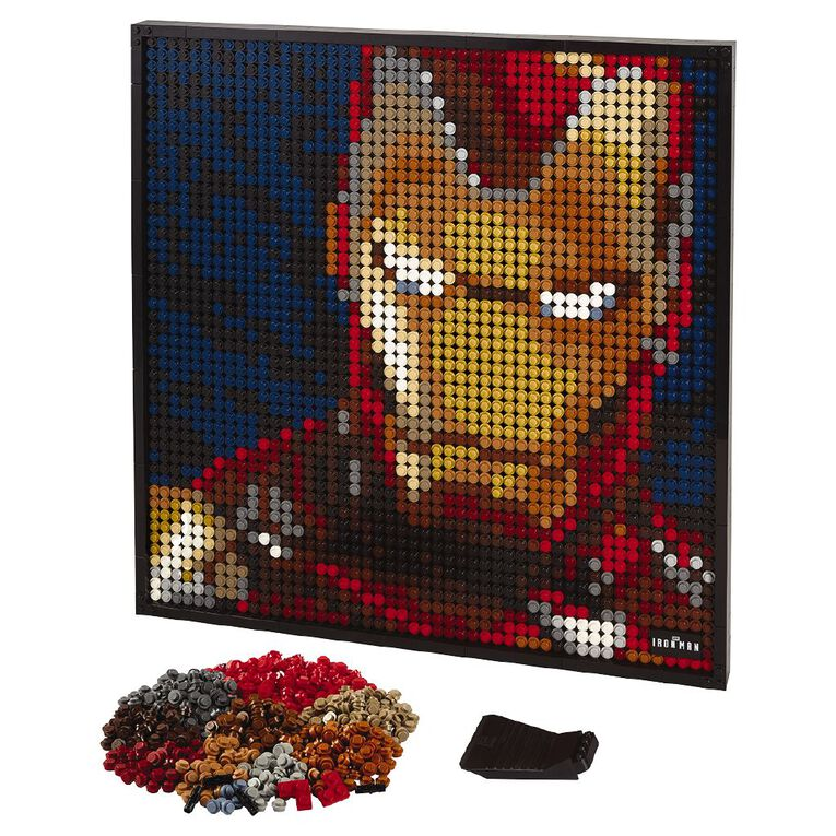 LEGO Art Marvel Studios Iron Man 31199, , hi-res