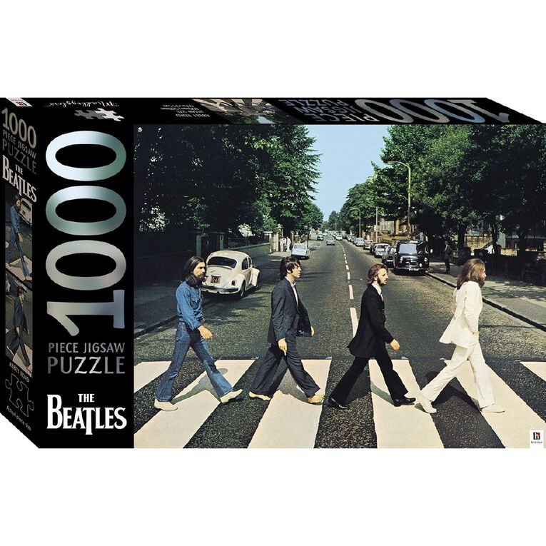 Hinkler The Beatles Abbey Road 1000 Piece Puzzle, , hi-res
