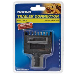 Narva Trailer Plug 7 Pin Flat