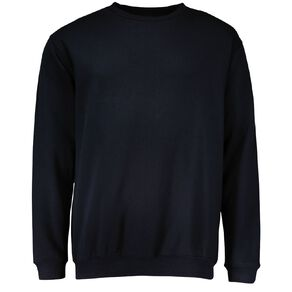 H&H Men's Plain Crew Sweatshirt