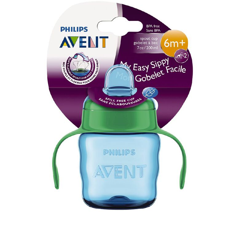 Avent Easy Sip Cup with Handle 200ml 6mth+, , hi-res