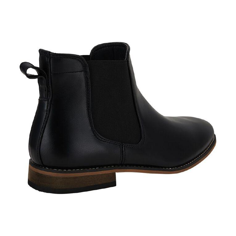 H&H Dylan Wide Fit Boots, Black, hi-res