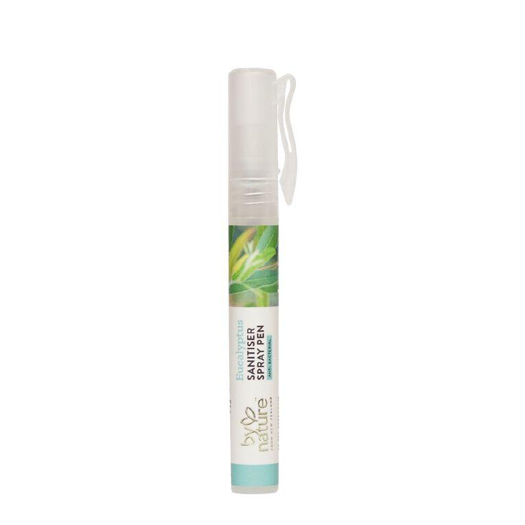 By Nature Eucalyptus Sanitiser Spray Pen 9ml, , hi-res