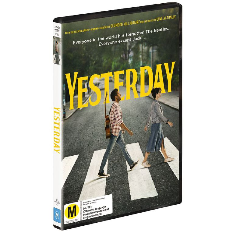 Yesterday DVD 1Disc, , hi-res
