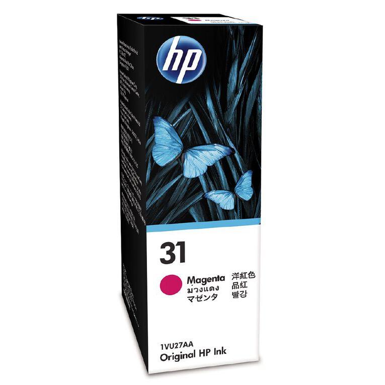 HP Ink 31 Magenta 70ML (8000 Pages), , hi-res