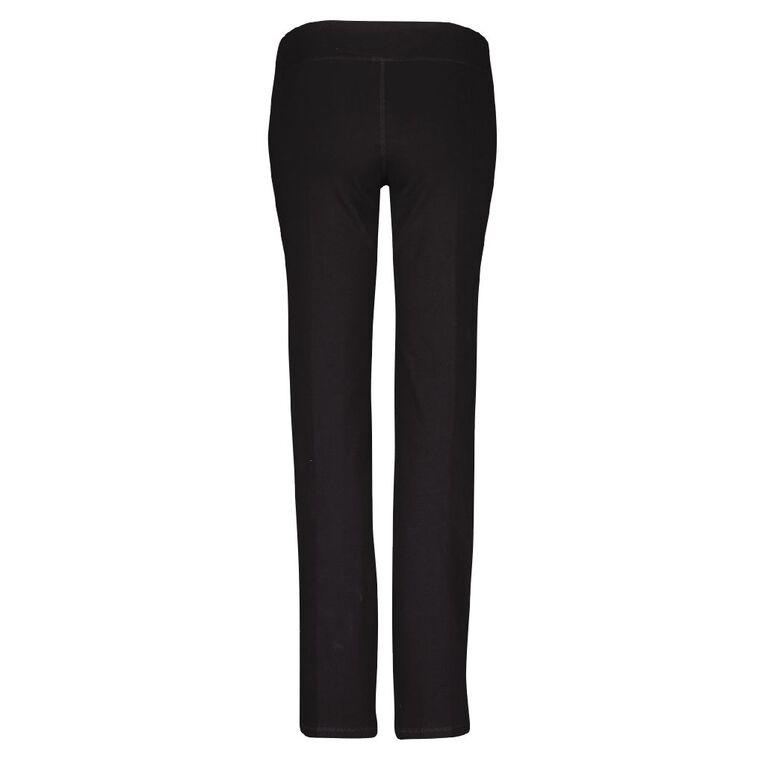 Active Intent Women's Straight Leg Pants, Black, hi-res
