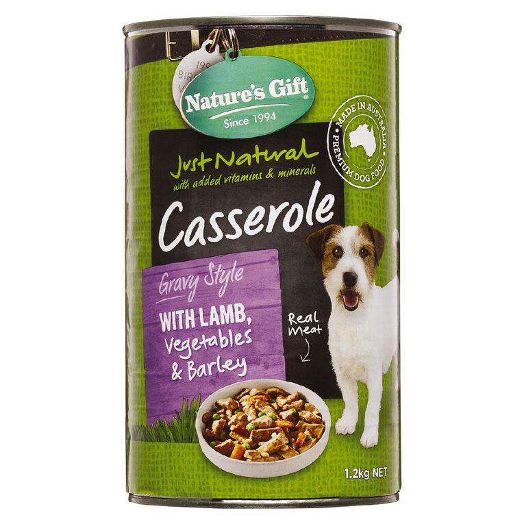 Nature's Gift Meal Time Gravy Lamb Veg & Barley 1.2kg, , hi-res image number null