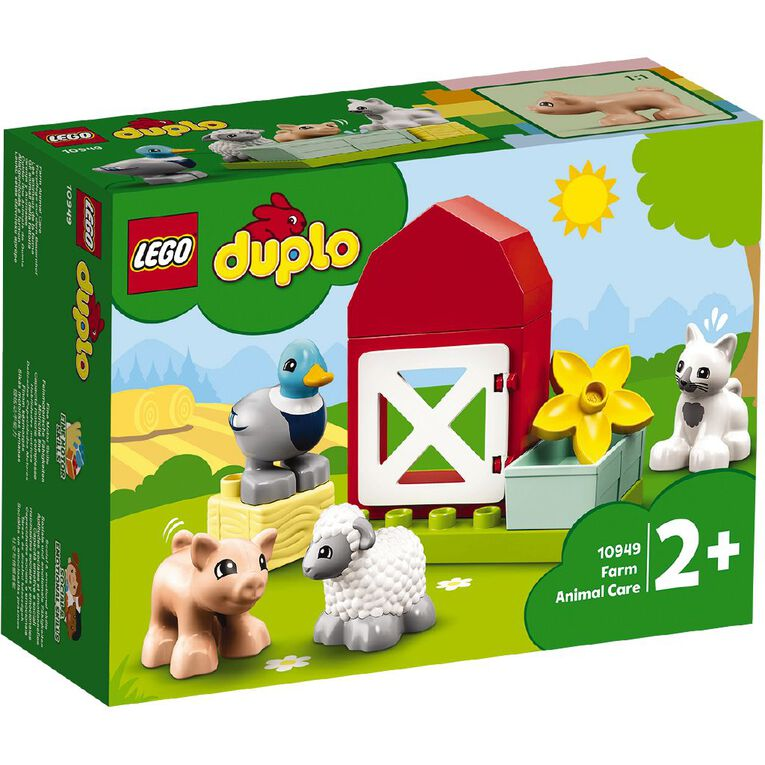 LEGO DUPLO Farm Animal Care 10949, , hi-res