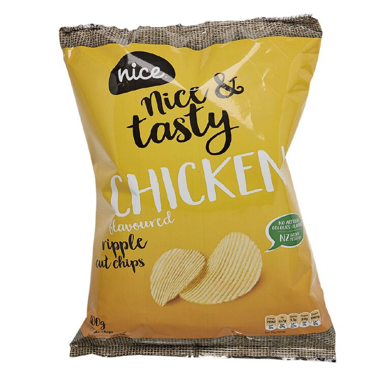 Nice Chips Chicken 100g, , hi-res