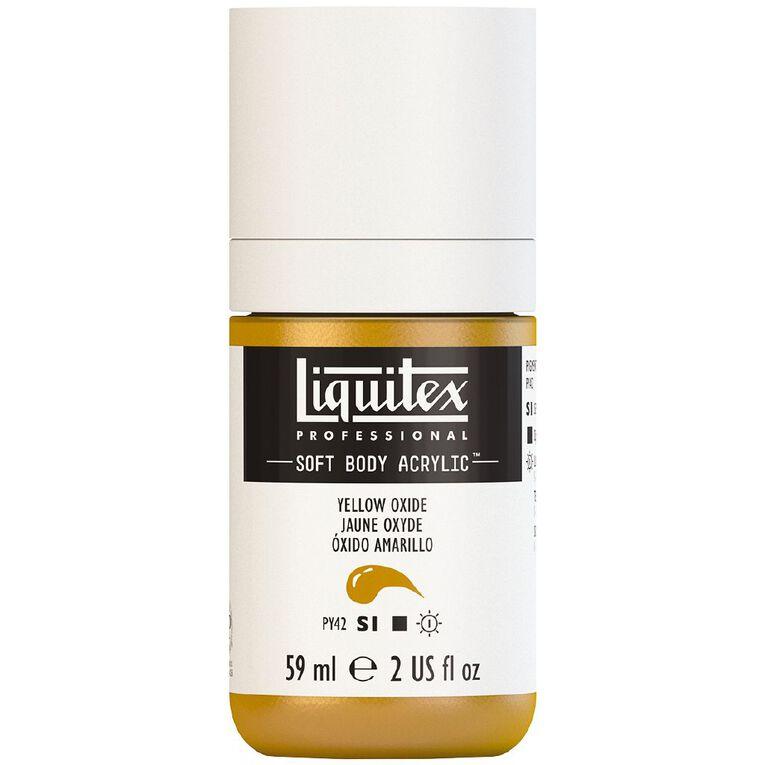 Liquitex Soft Body Acrylic 59ml Yellow Oxide S1, , hi-res