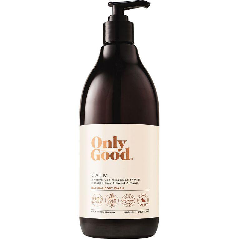 Only Good Bodywash Calm 900ml, , hi-res