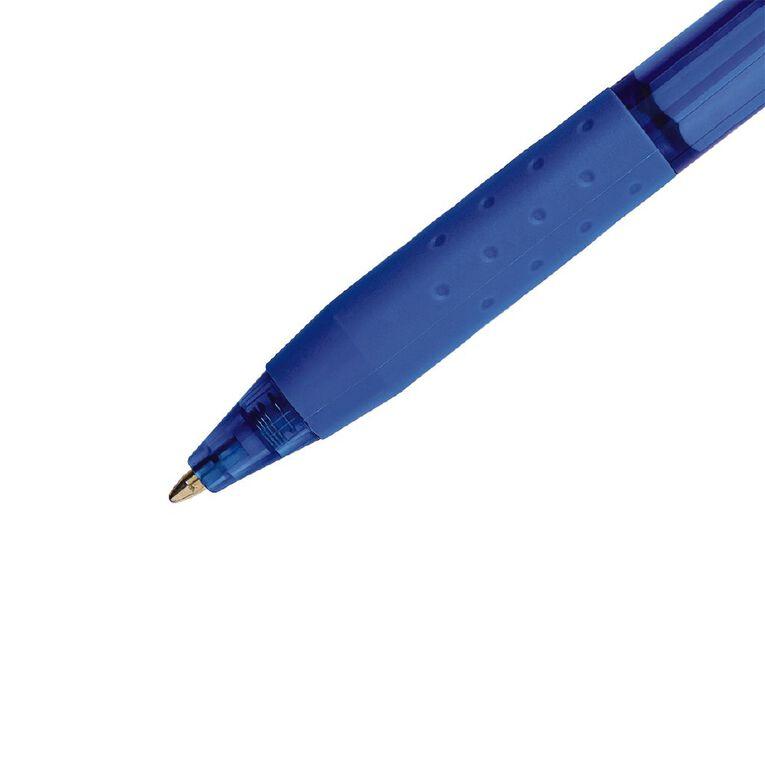 Paper Mate InkJoy 300RT Retractable 1.0mm Ball Pen Blue 4 Pack, , hi-res