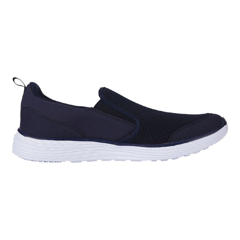 Active Intent Trang Slip On Memory Foam Shoes, Navy W21, hi-res
