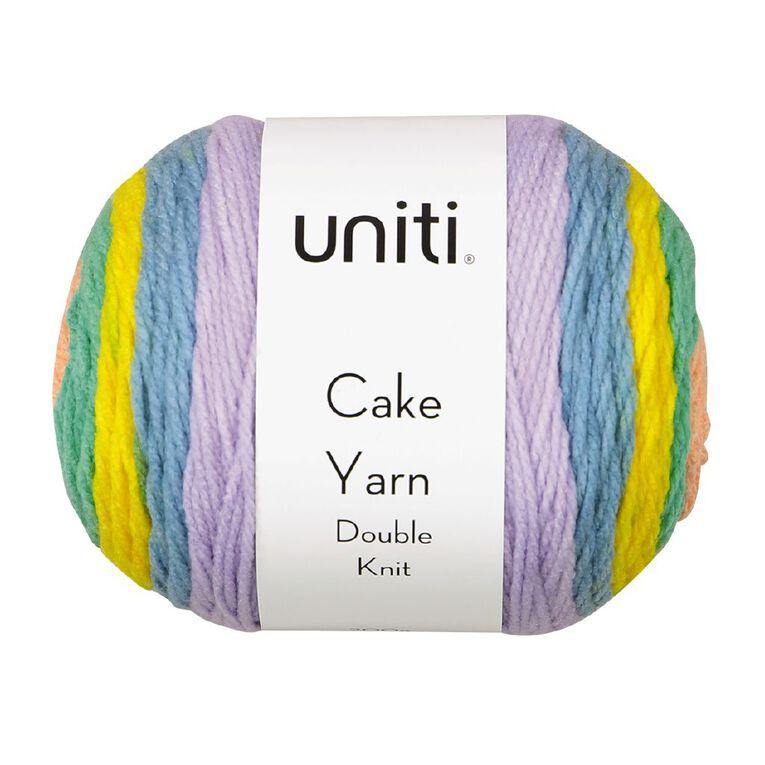 Uniti Yarn Cake Double Knit 200g Candy Pink 200g, , hi-res