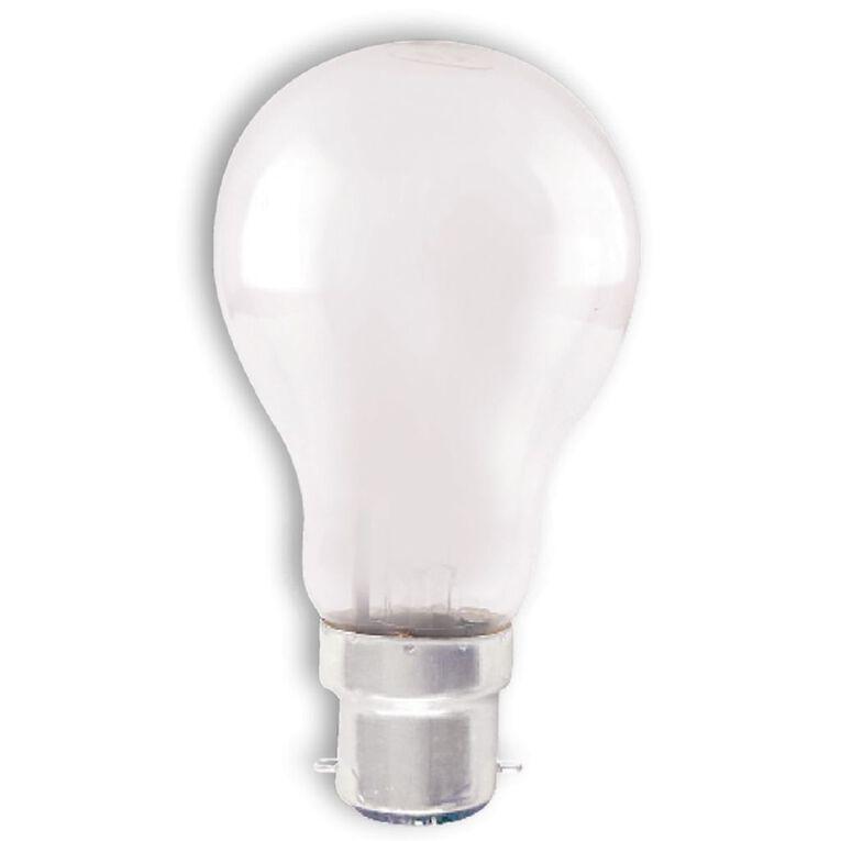 Edapt Halogena B22 Classic Light Bulb 52w White 6 Pack, , hi-res