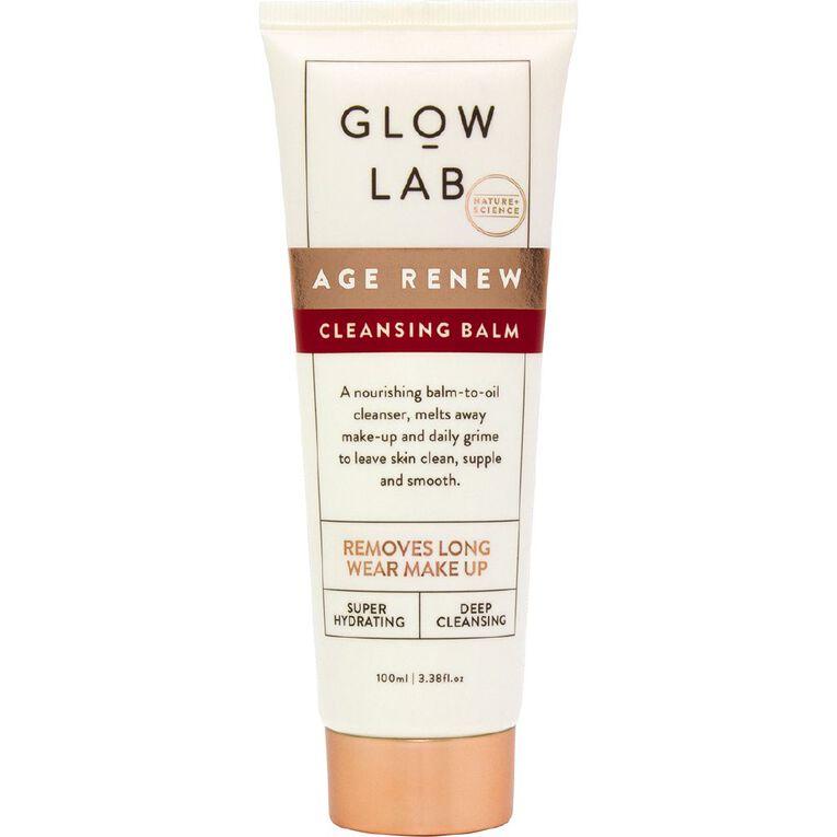 Glow Lab Age Renew Cleansing Balm 100ml, , hi-res