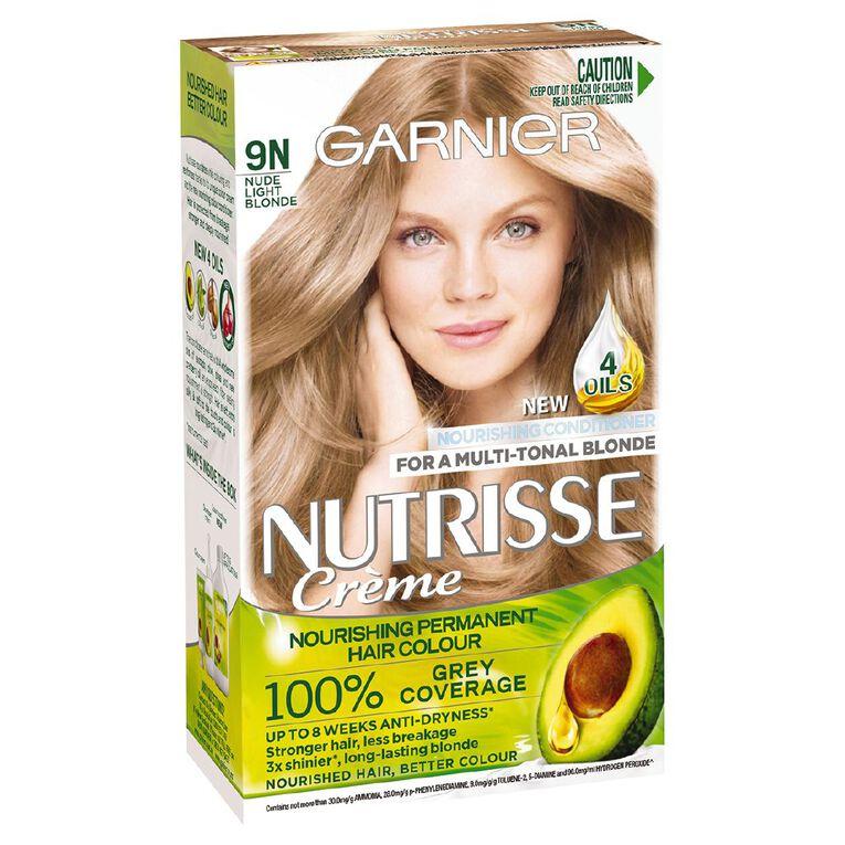 Garnier Nutrisse Nude Natural Light Ash Blonde 9N, , hi-res