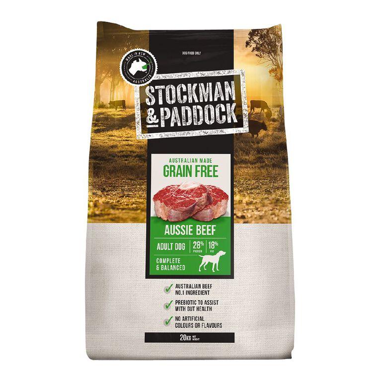 Stockman & Paddock Grain Free 20kg, , hi-res