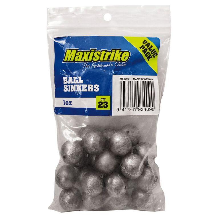Maxistrike Sinker 1oz Ball 23 Piece, , hi-res
