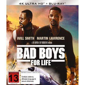 Bad Boys For Life 4K Blu-ray 2Disc