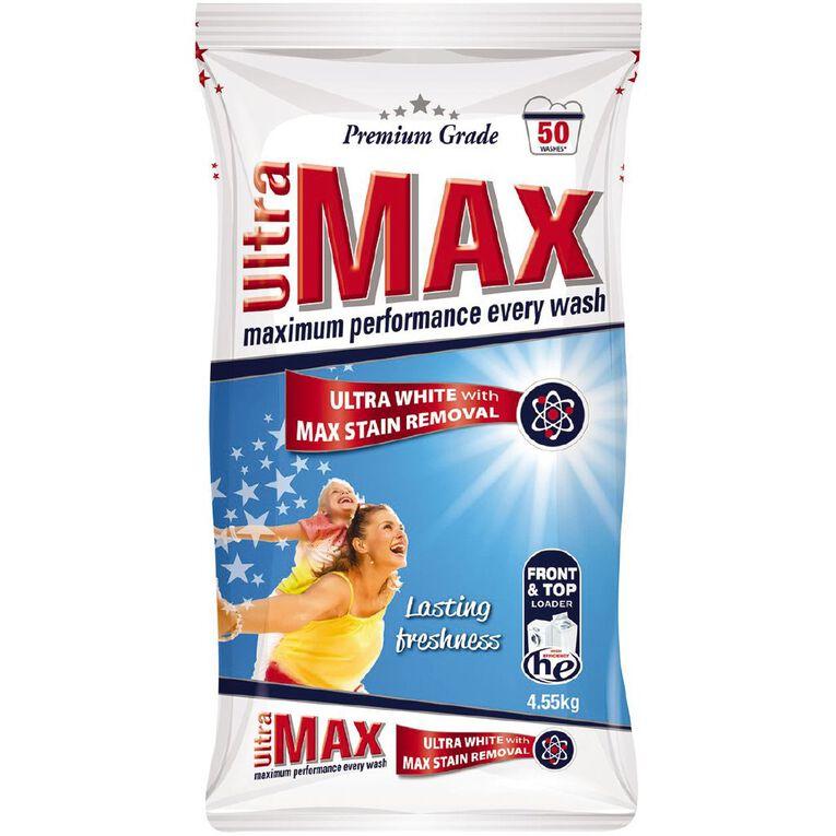 Ultra Max Premium Front and Top Loader Powder 4.55kg, , hi-res