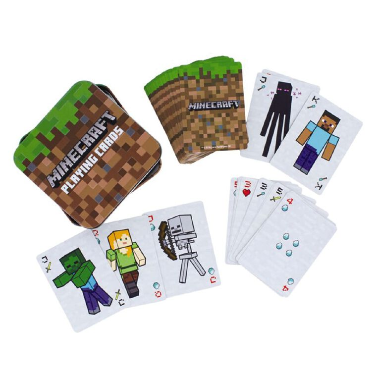 Paladone Minecraft Playing Cards, , hi-res