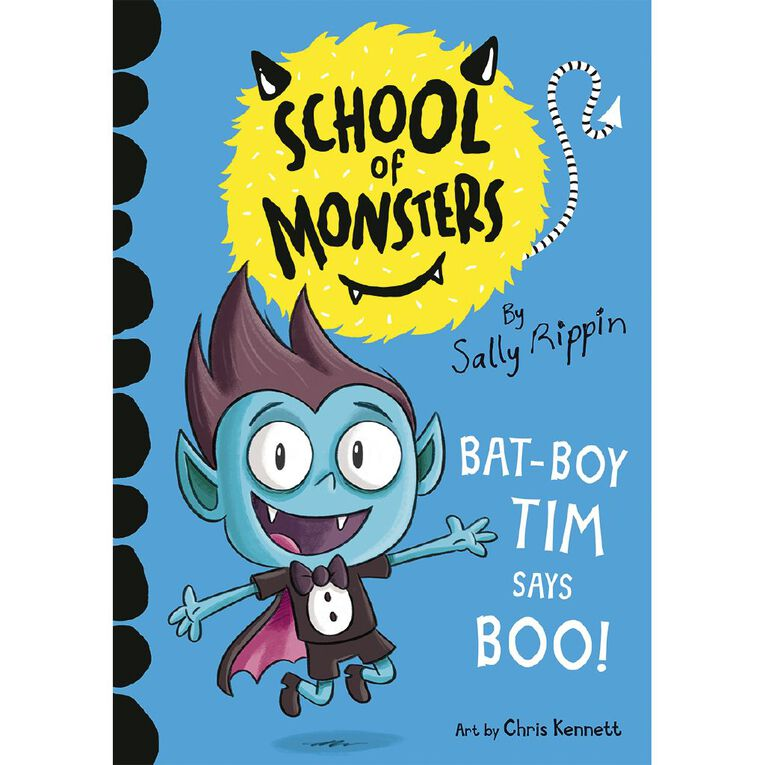School of Monsters #2 Bat-Boy Tim Says Boo! by Sally Rippin, , hi-res