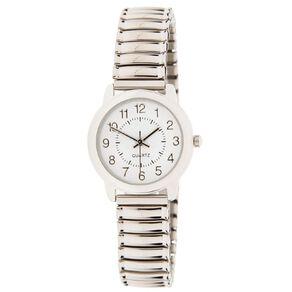 Eternity Women Classic Analogue Expander Steel Watch Silver