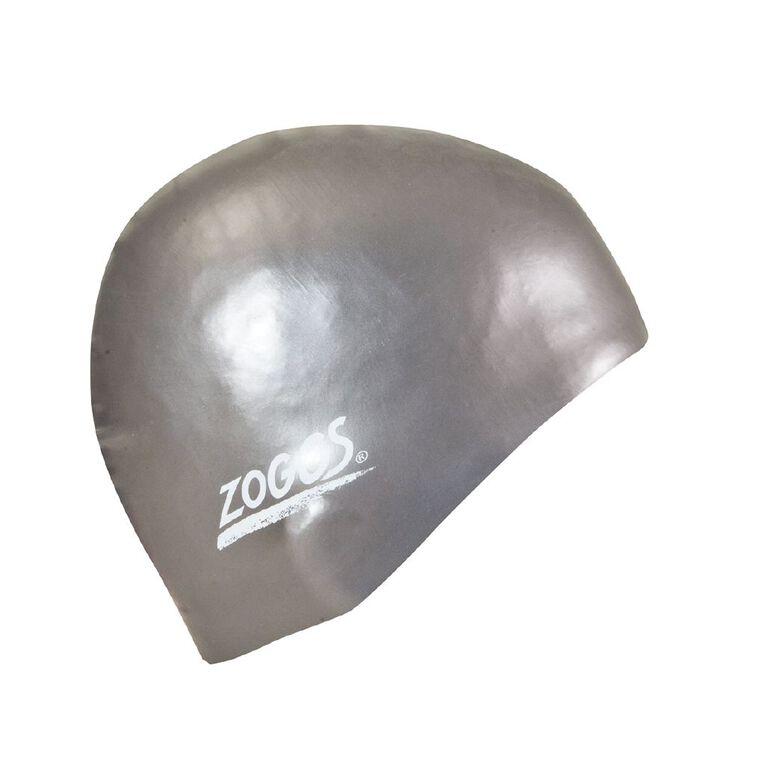 Zoggs Easy Fit Silicone Cap Assorted, , hi-res