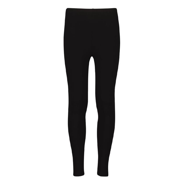 Young Original Girls' Leggings, Black, hi-res image number null