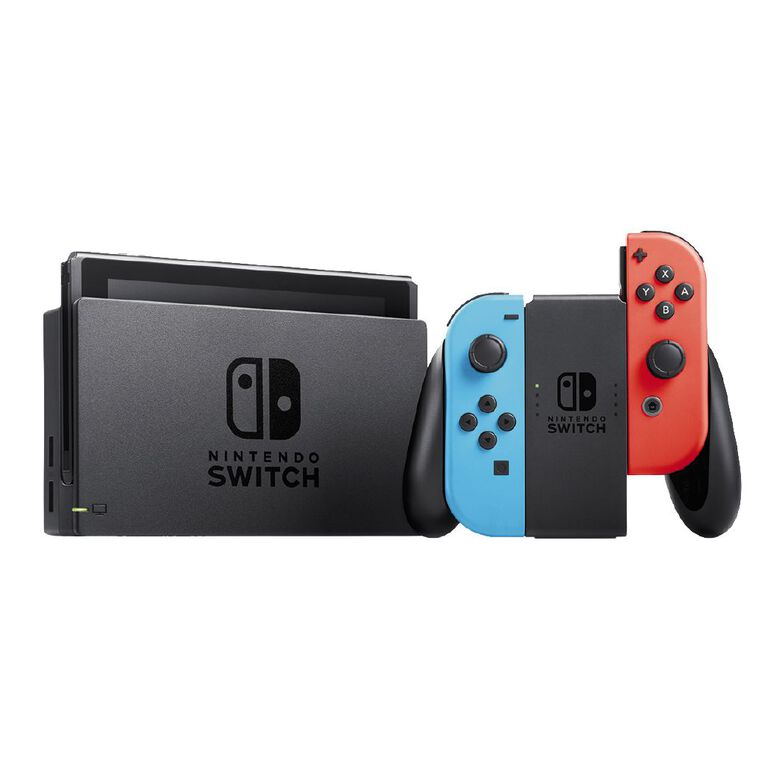 Nintendo Switch Console Neon, , hi-res