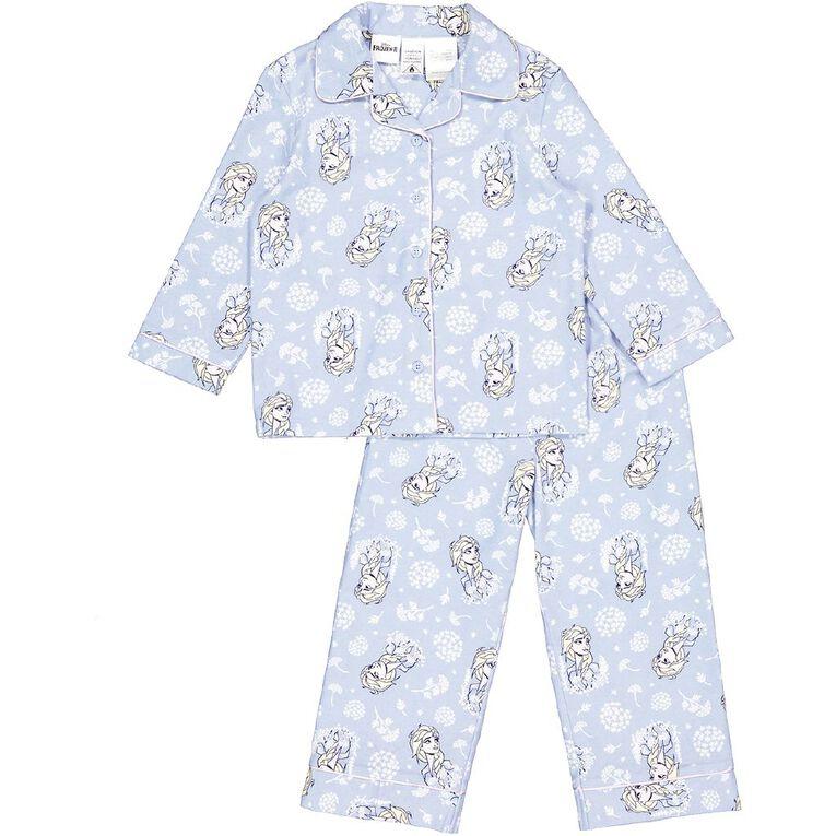 Frozen Kids' Flannelette Pyjamas, Blue, hi-res