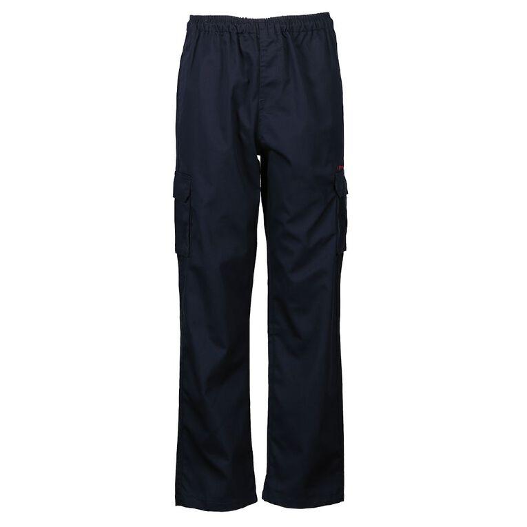 Schooltex Te Matauranga Cargo Pants with Embroidery, Navy, hi-res
